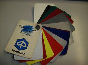 PIAGGIO-CIAO-VESPA-TABELLA-COLORI-1993-DUE-RUOTE-2-WHEELS