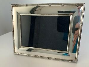 "Vintage Carr's of Sheffield Sterling Silver Photo Frame 5.5"" by 7"" HALLMARKED"