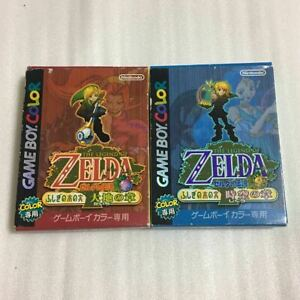 Legend-of-Zelda-Oracle-of-Seasons-and-Ages-SET-GAMEBOY-Color-w-Tracking