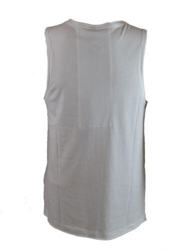 SOHVS001 Sons of Heroes Men/'s MIRRORED LION Vest White
