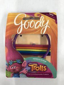 Image is loading Goody-Trolls-Girls-Hair-Tie-Bracelets-Elastics-Assorted- 689fa53c816