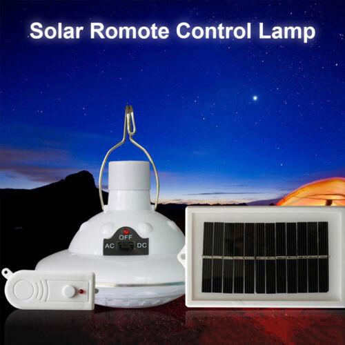 22 LED Solarbetriebene Camping Lampe Fernbedien Hängen Outdoor Indoor Licht CBL