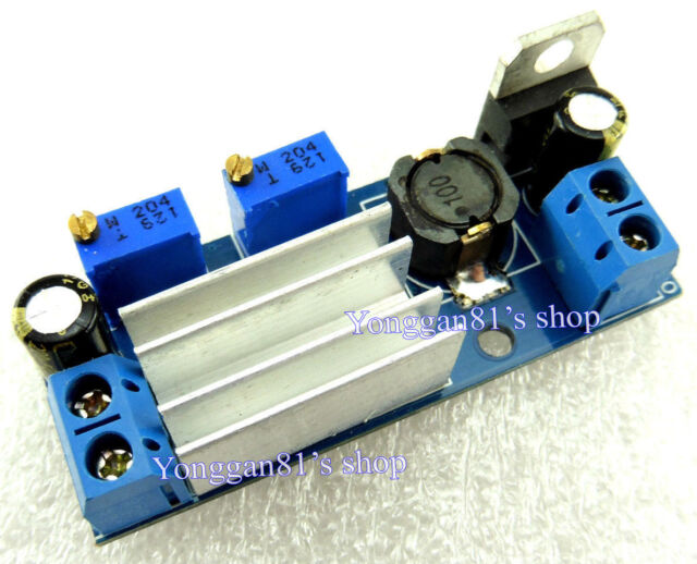 3A Constant Current Voltage Adjustable Step-Down LED Driver Power Supply Module