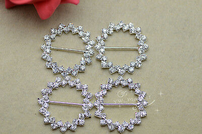 200 pcs crystal rhinestone buckle golden as communicated