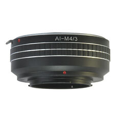 Nikon F AI Mount Lens to Olympus Panasonic Micro 4/3 M43 Mount Adapter E-PM2 G5