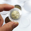 Capsules-plastique-rondes-pour-pieces-de-2-euro-diametre-26-mm miniature 1