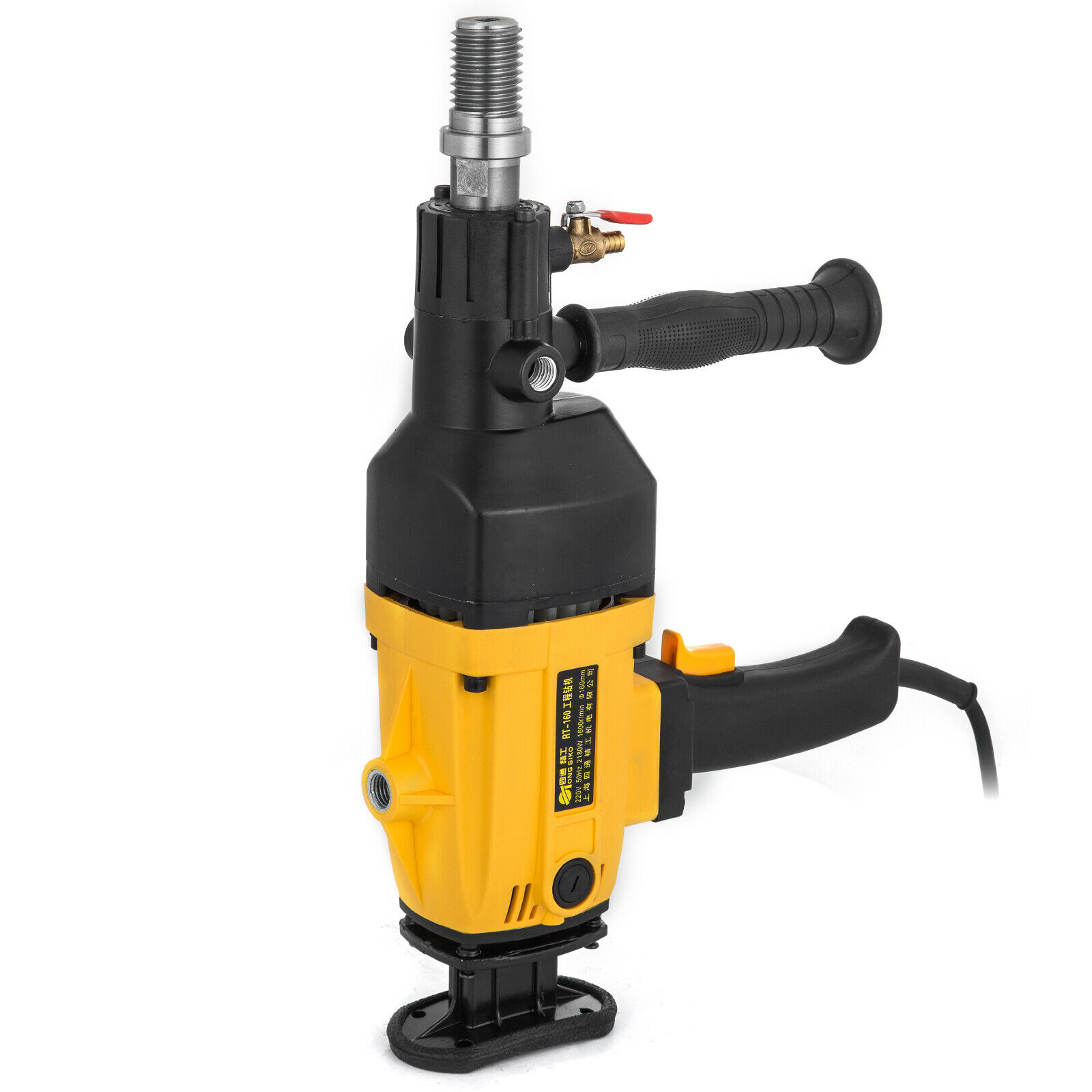 RT-160 Hand Held Wet//Dry Diamond Core Drill 2180W Concrete Core Drilling Machine