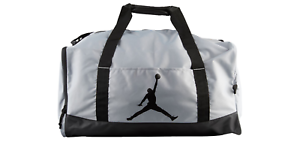 d1206cc7d1e2 Nike Air Jordan Trainer Duffel Gym Bag Wet Dry Shoe Pocket Red Black ...