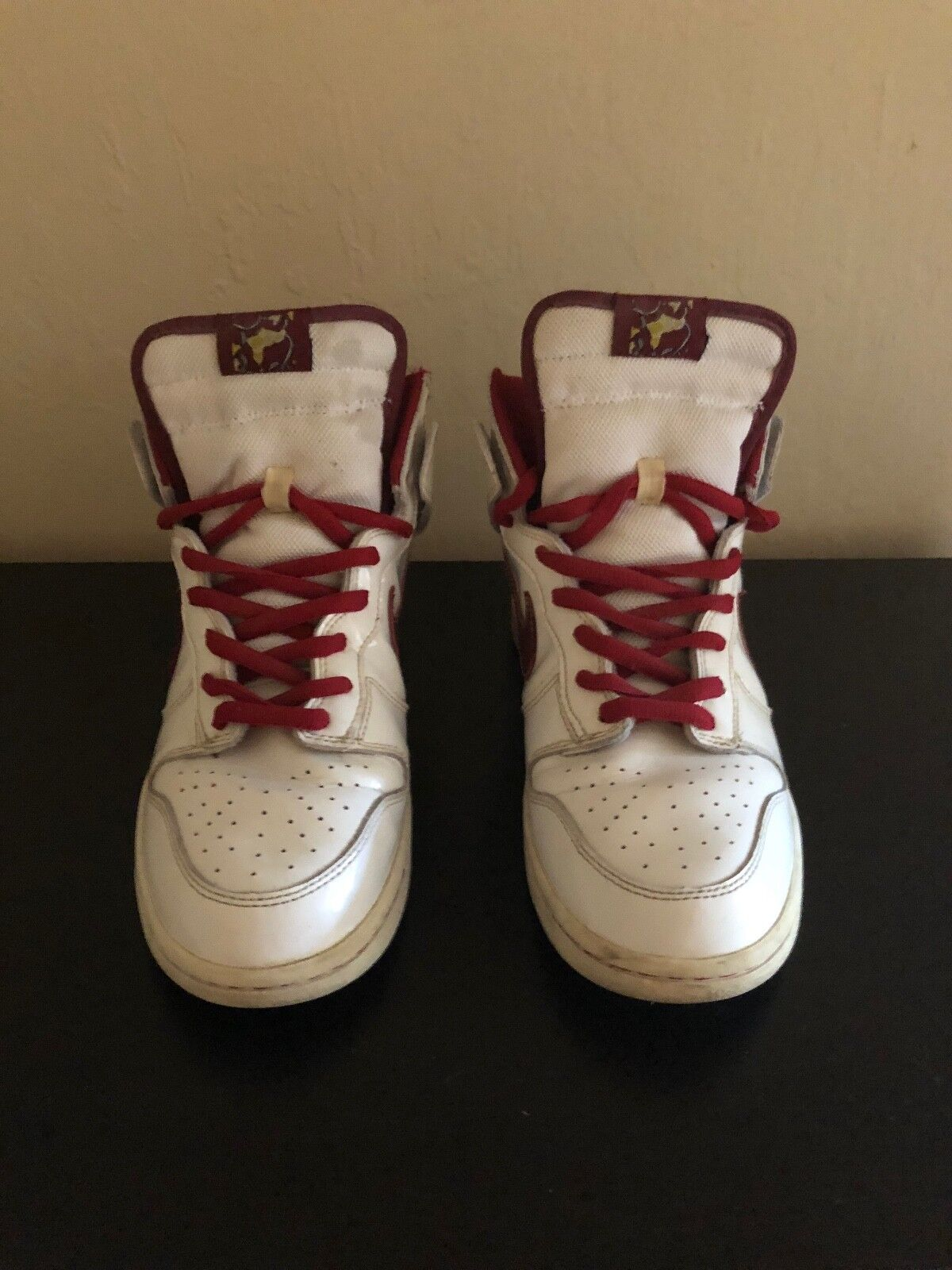 Nike SB Dunk High Mafia, White   College Red, Size 9.5