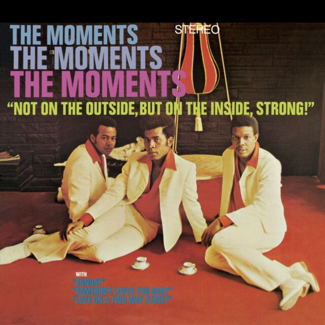 THE MOMENTS - NOT ON THE OUTSIDE.../ON TOP   CD NEW!