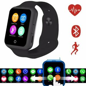 Mate Phone Bluetooth Smart Watch For Andriod Samsung HTC Support SIM
