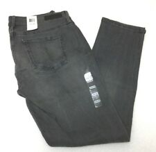 Calvin Klein Jeans 14 X 30 Gray Cotton Blend Womens Ultimate SKINNY Stretch