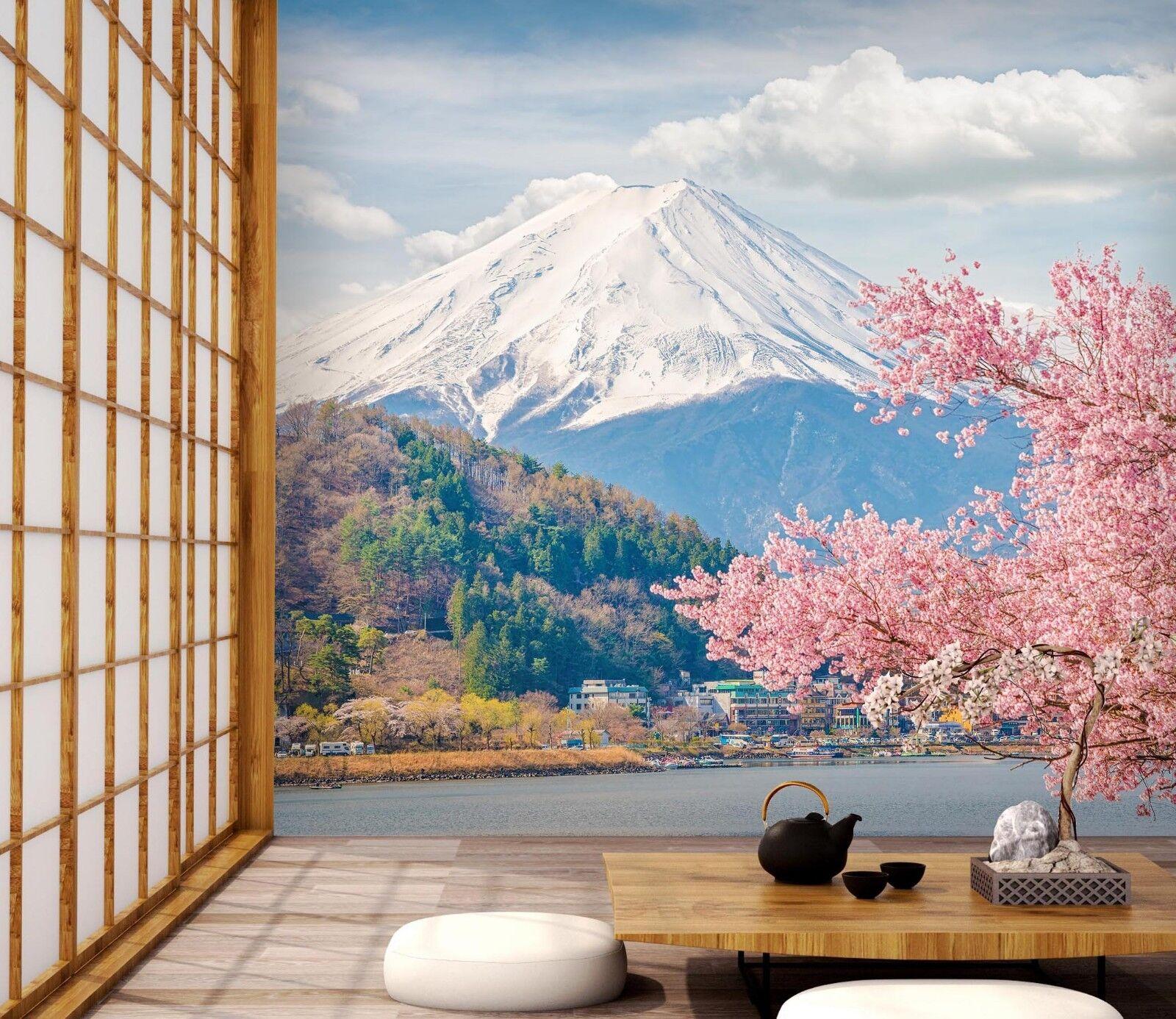 3D Mount Fuji Scenery 45 Wall Paper Wall Print Decal Deco Indoor Wall Mural CA