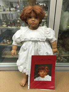 Sammlerpuppe Annette Himstedt Liliane Zertifikat Dolls & Bears