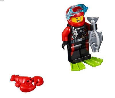 LEGO® Minifig City Taucher aus dem Set 60153