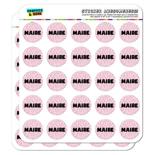 "1/"" Scrapbooking Crafting Stickers Names Female Mab-Maj"