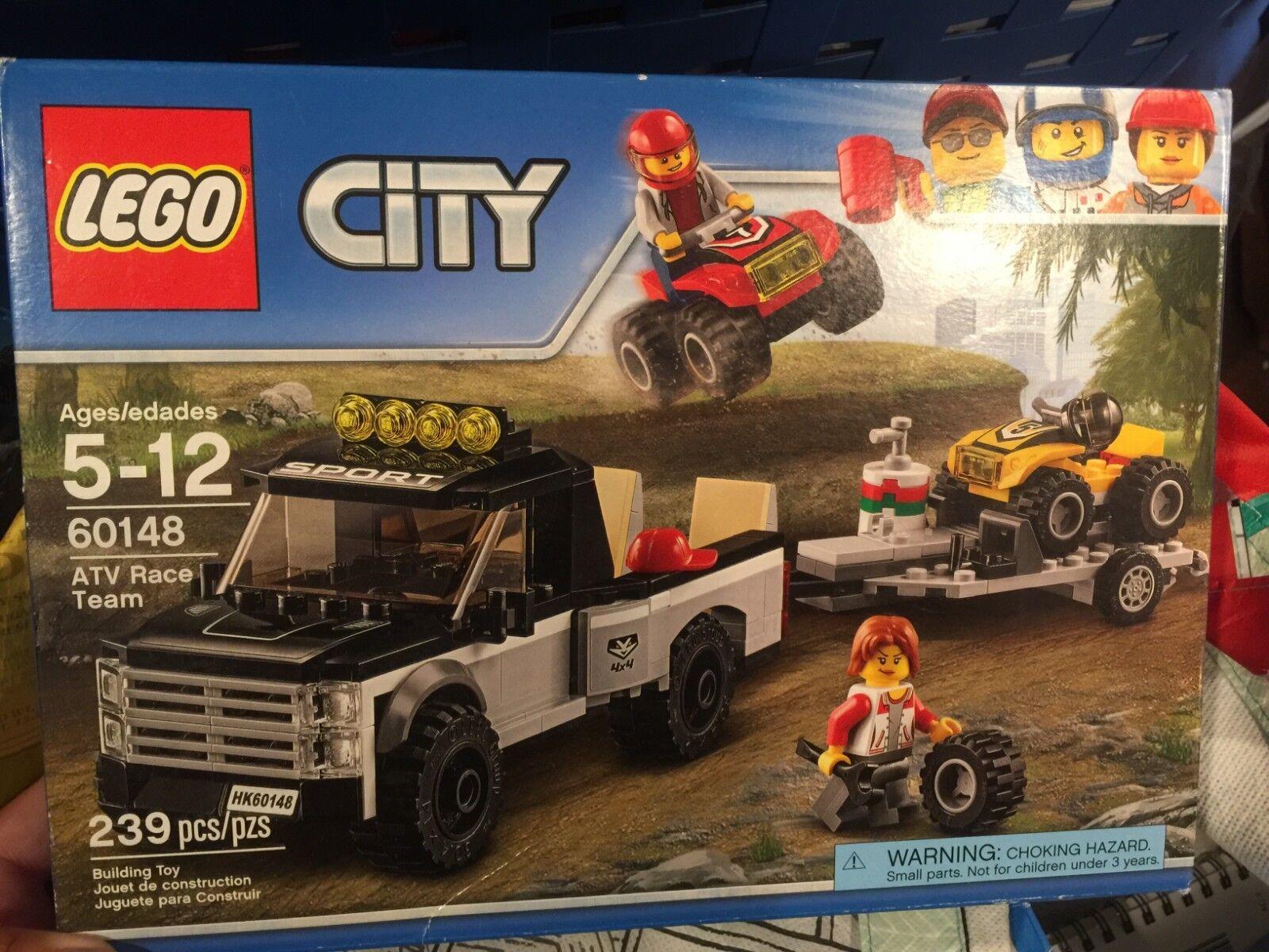 NEW Lego Lego Lego City ATV Race Team 60148 Building Kit Toy 239 Pieces Ages 5-12 752760