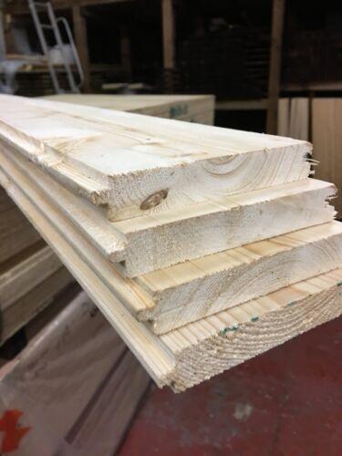 floor repair board //110 mm wide x 18mm thick x3.00m long Pine floorboards