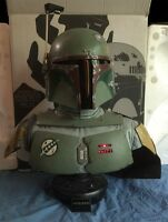 BOBA FETT LIFE-SIZE STAR WARS BUST - #17 of 1000 - SIDESHOW COLLECTIBLES