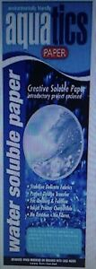 Water-Soluble-Paper-Crazy-Felt-Patchwork-Embroidery-Soap-Making-Crafts-Printing