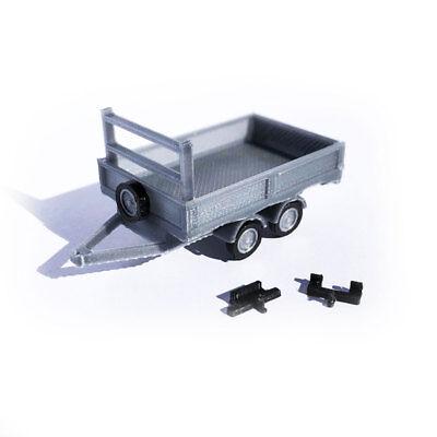 OO Gauge 1:76 3D printed for model railways modern square bins 4