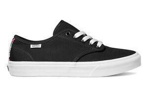 Vans-Black-Camden-Arrows-Trainers-Shoes-Authentic-Womens