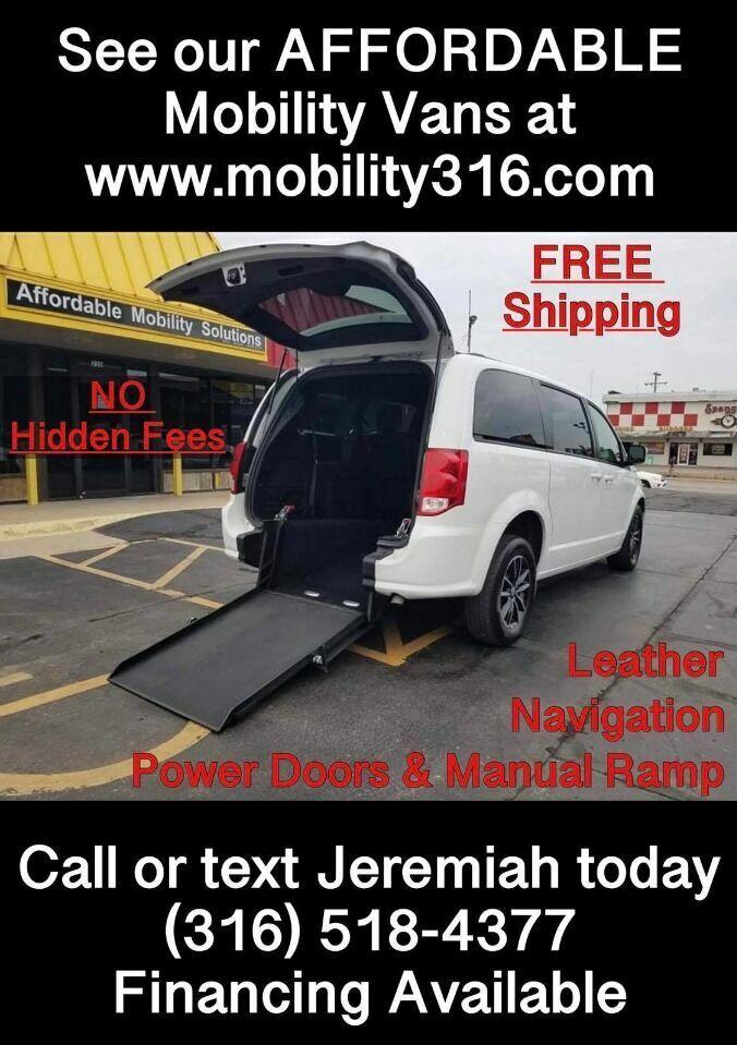 2018 Dodge Grand Caravan Wheelchair Mobility Handicap