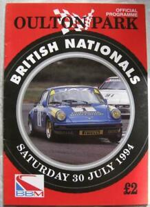 OULTON PARK 30 Jul 1994 BBM British Nationals Official Programme