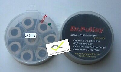 SLIDING ROLLER WEIGHTS YAMAHA X-MAX 400 DR.PULLEY HEXAG ALL WEIGHTS