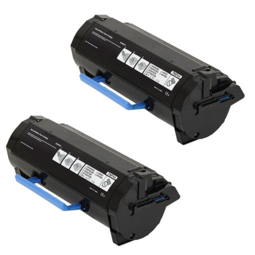 2 Pack Konica Minolta bizhub 4750 4050 Black Toner TNP46 TNP44 A6VK01W A6VK01F
