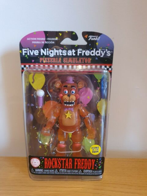 Funko Five Nights at Freddy's - Rockstar Freddy Action Figure Funko *SOLD OUT*