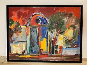 Gagik-Manoukian-Listed-Artist-034-Impressionistic-Door-034-2002-Original-Oil