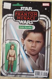 NEW-STAR-WARS-The-Phantom-Menace-OBI-WAN-amp-ANAKIN-Marvel-VARIANT-EDITION-1