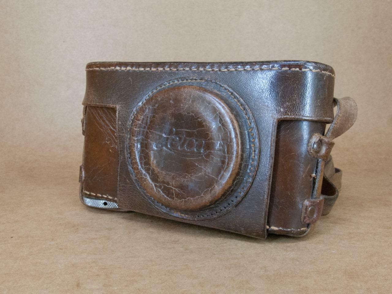 Leather Ever-Ready Case 3/8'' Thread for Leitz Leica II / IIIa / IIIb