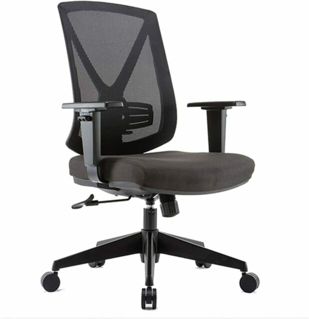 Clatina Ergonomic High Mesh Swivel Desk Chair With Adjustable Height Arm Office For Sale Online Ebay