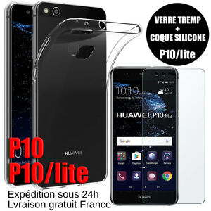 HUAWEI-P10-Lite-Plus-PACK-COQUE-EN-SILICONE-FILM-VERRE-TREMPE-PORTECTION