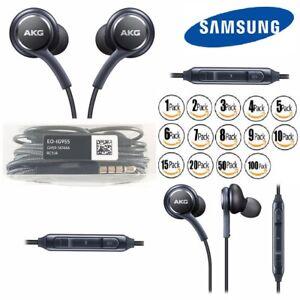 d47c551a412 OEM Samsung S9 S8+ Note 8 AKG Earphones Headphones Headset Ear Buds ...