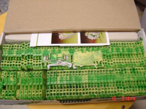 10 Din Rail 280-907 Lot of 10 Pieces Qty Terminal Blocks Wago 2 Pos