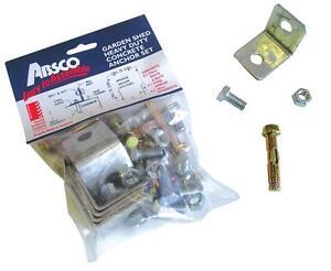 ABSCO-Garden-Shed-Concrete-Anchor-Kit-Set-of-8-or-12