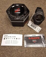Casio G-Shock Black Out Anti Magnetic Wrist Watch, Matte - G100BB-1A