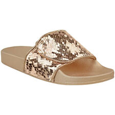 6a48af970f2268 item 4 Womens Ladies Flat Slider Sandals Slip On Flip Flop Embellished  Summer Shoe Size -Womens Ladies Flat Slider Sandals Slip On Flip Flop  Embellished ...