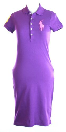 e271b2bfb644 Robe Violet Poney Xs Uk Polo 4 Lauren Ralph Femmes Taille 6 Grand 7IAOqHw