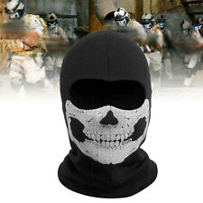 Motorcycle Bike Ghost Skull Motorcycle Balaclava Full Face Airsoft Game Mask New