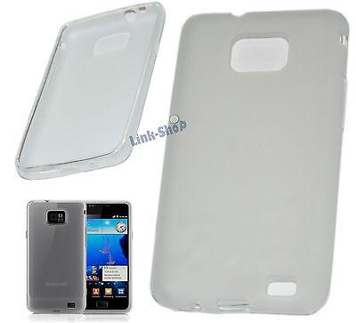 Custodia TPU Cover Case Trasparente per Samsung Galaxy S2 i9100 Plus i9105