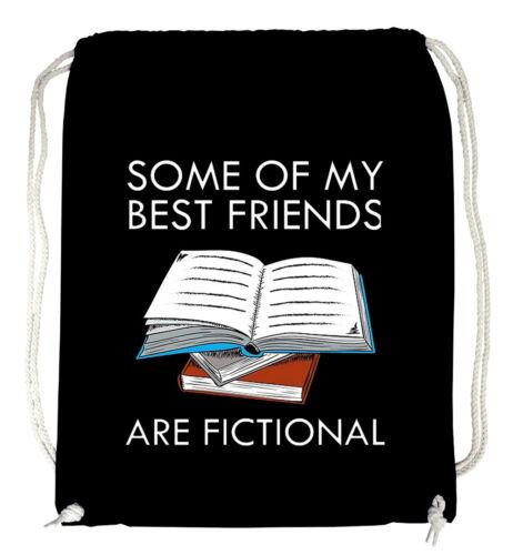 neu fictional Fictional Friends Turnbeutel Black  friends books