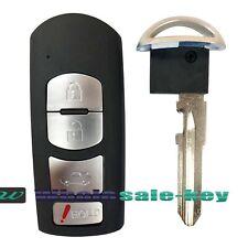 For 2014 2018 Mazda 6 3 Smart Key Fob Remote Transmitter Wazske13d01 Fits Mazda