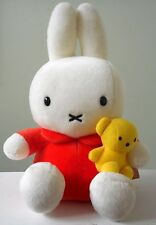 """MIFFY Bunny Rabbit Dick Bruna Plush Stuffed doll mini Boris Bear Japan TAGS 9.5"""""""