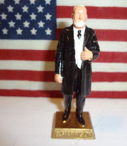 "PRESIDENT BENJAMIN HARRISON Vintage 1960s Marx Presidents 2.5/"" Figure"