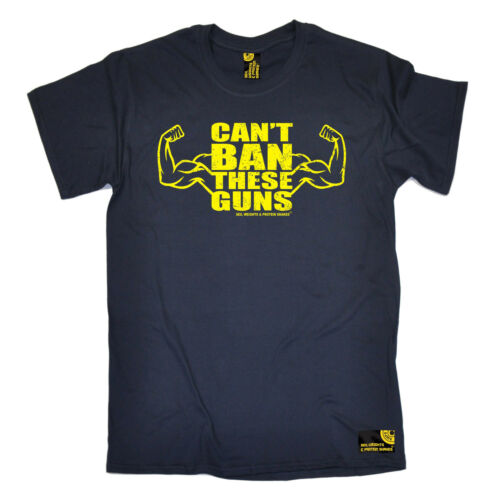 Can/'t Ban These Guns MENS SWPS T-SHIRT birthday workout gym fitness training