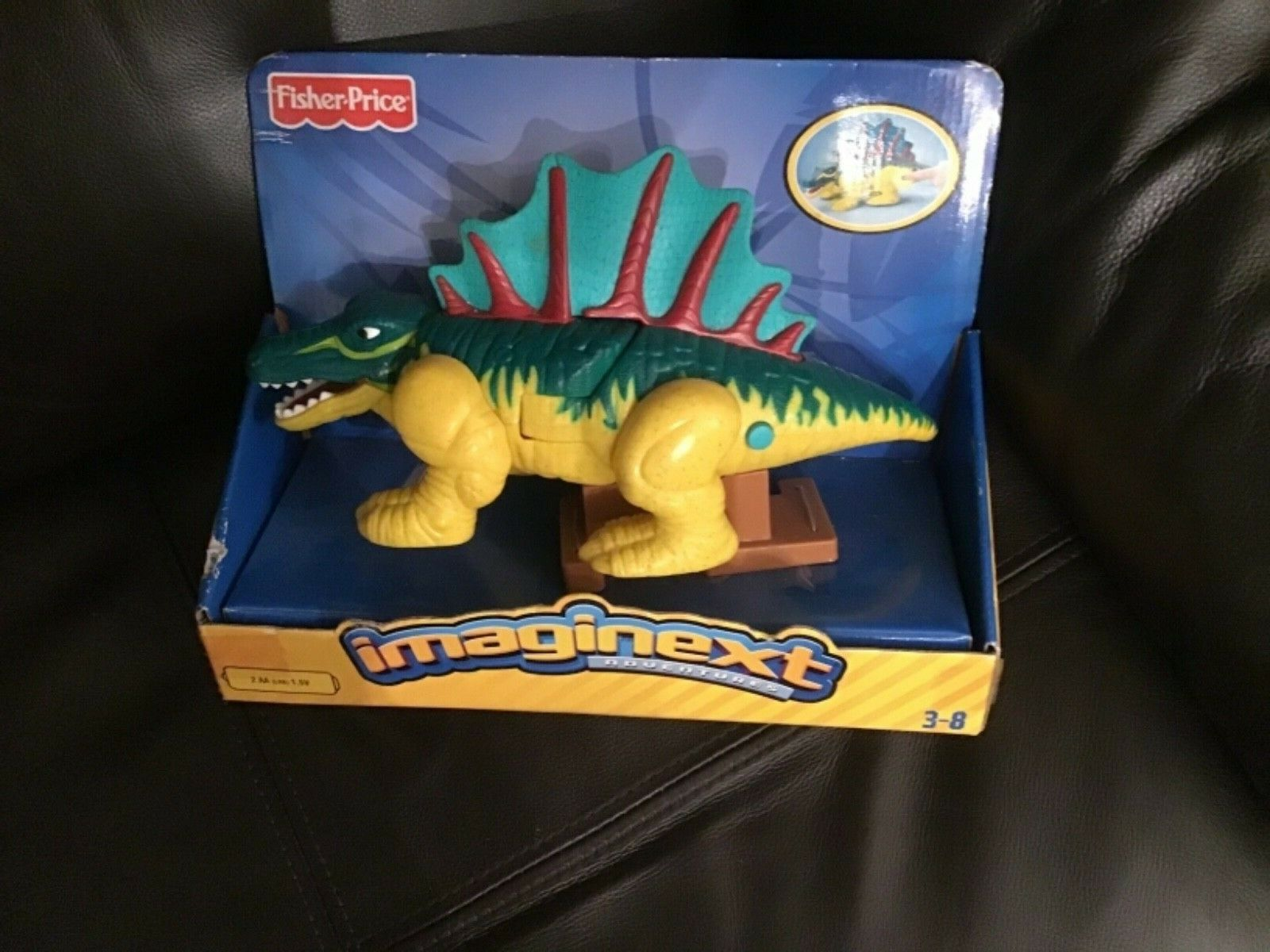Fisher-Price Imaginext Spiny the Dimetrodon dinosaurs new and sealed L9511 2008